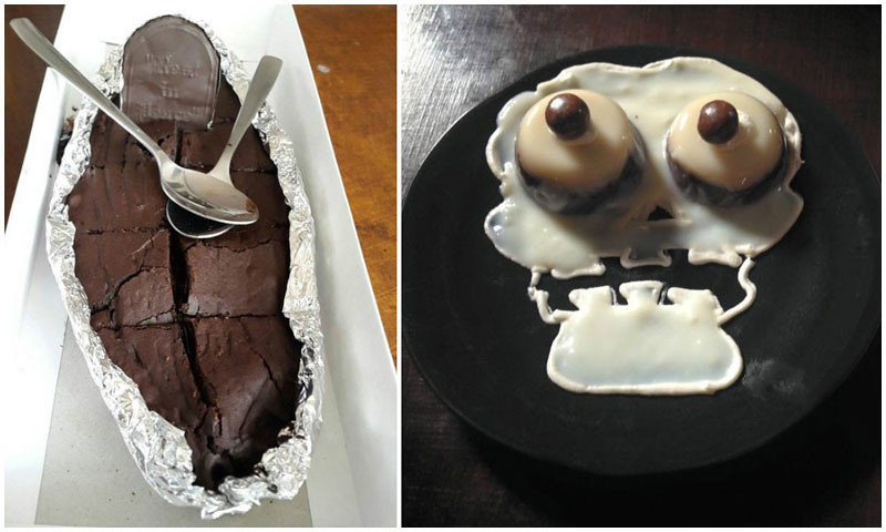Death by sex chocolate cake