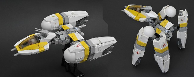 Y-wing evo, by space_e, on Flickr