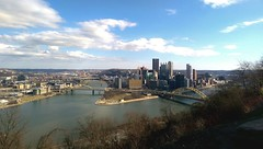 Pittsburgh from overlook