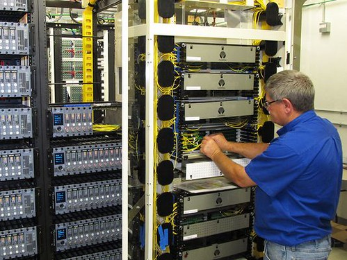 New routing switches installed to support Country Cablevision's expanded broadband service