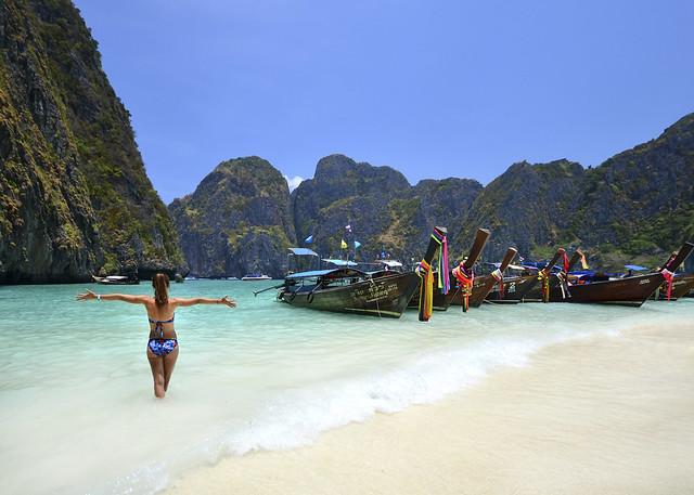 El paraíso de las islas Phi Phi y su playa de Maya Bay