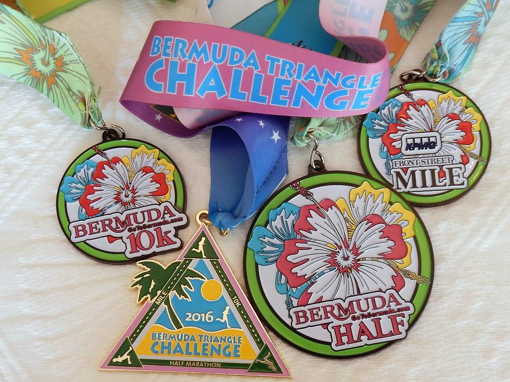 Image result for bermuda half marathon medal