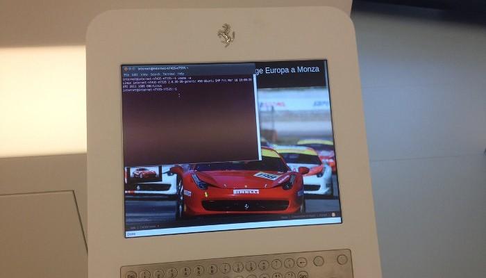 Ubuntu и Ferrari
