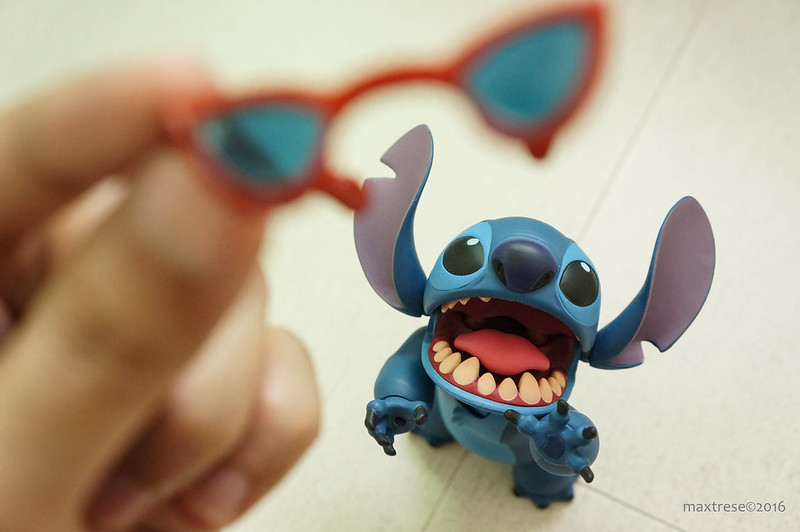 Toying with Revoltech Stitch