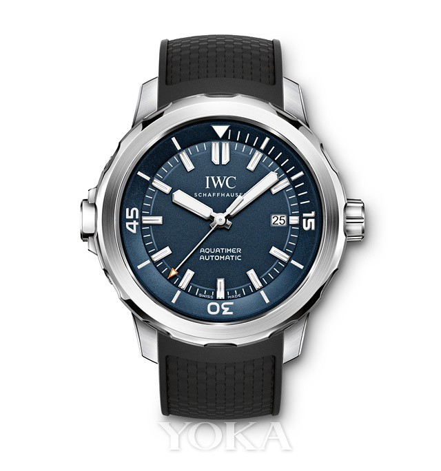 Daily HIV IWC IWC presents a new marine chronometer