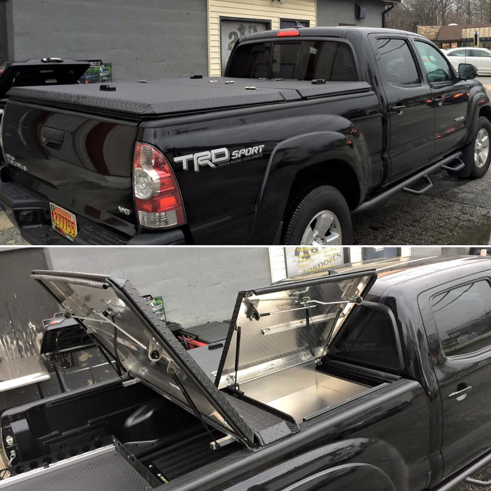 New Toyota Tacoma >> An Aluminum Tonneau Cover and Bed Accessory On A Toyota Ta… | Flickr