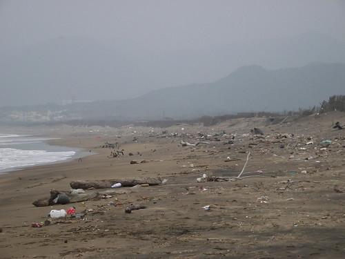 國聖埔沙灘(攝影:瞿涵)