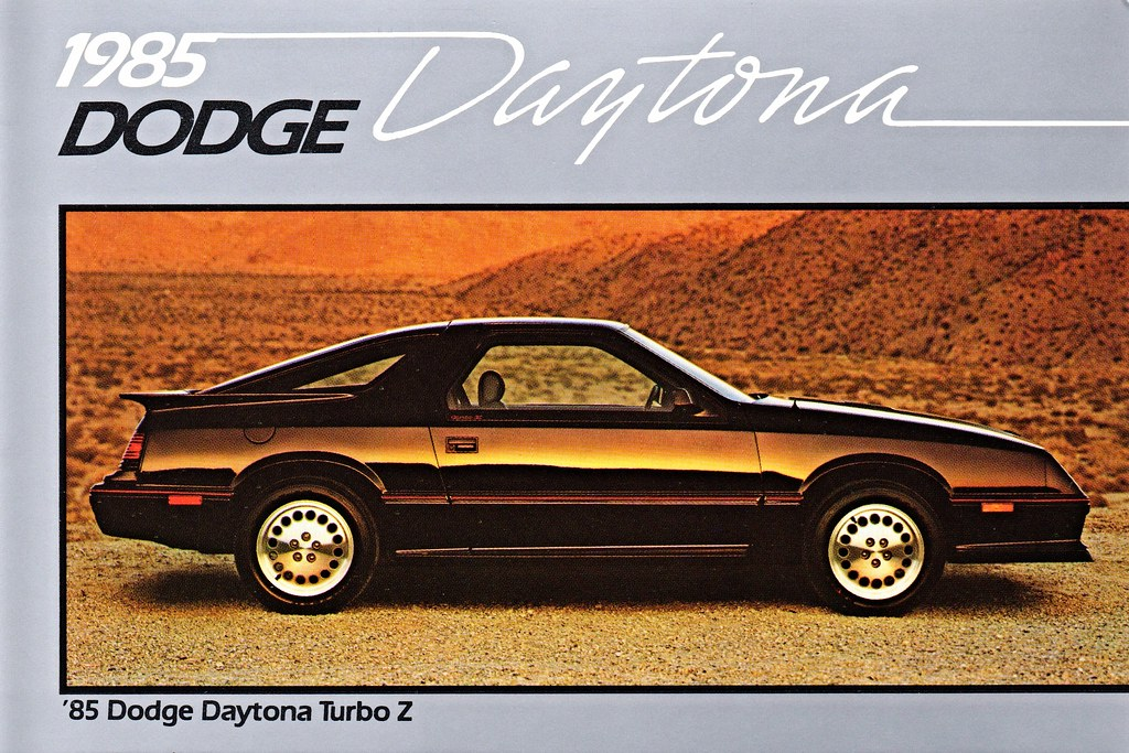 1985 Dodge Daytona Turbo Z Alden Jewell Flickr