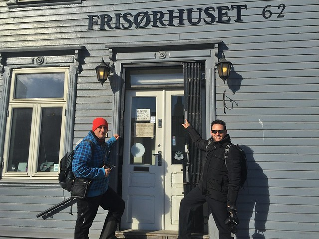Sele e Isaac en Tromso (Noruega)
