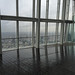 Wet day up the Shard
