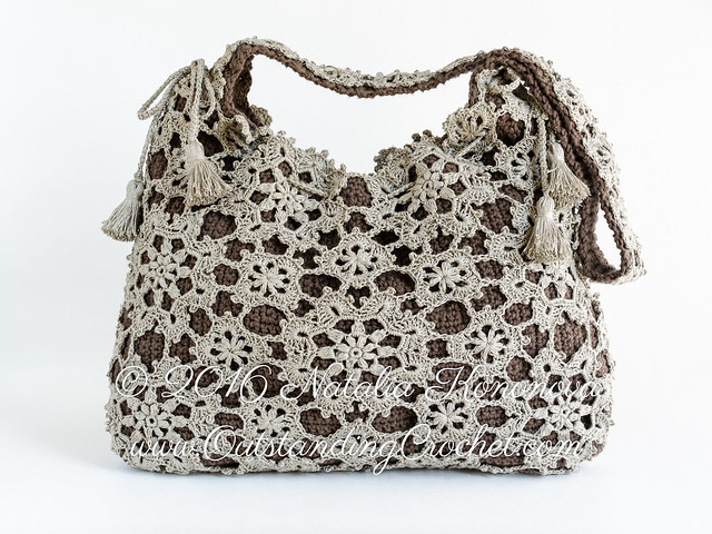 New Crochet Bags : ... Crochet: New pattern in the shops - Crochet Shoulder Messenger Bag