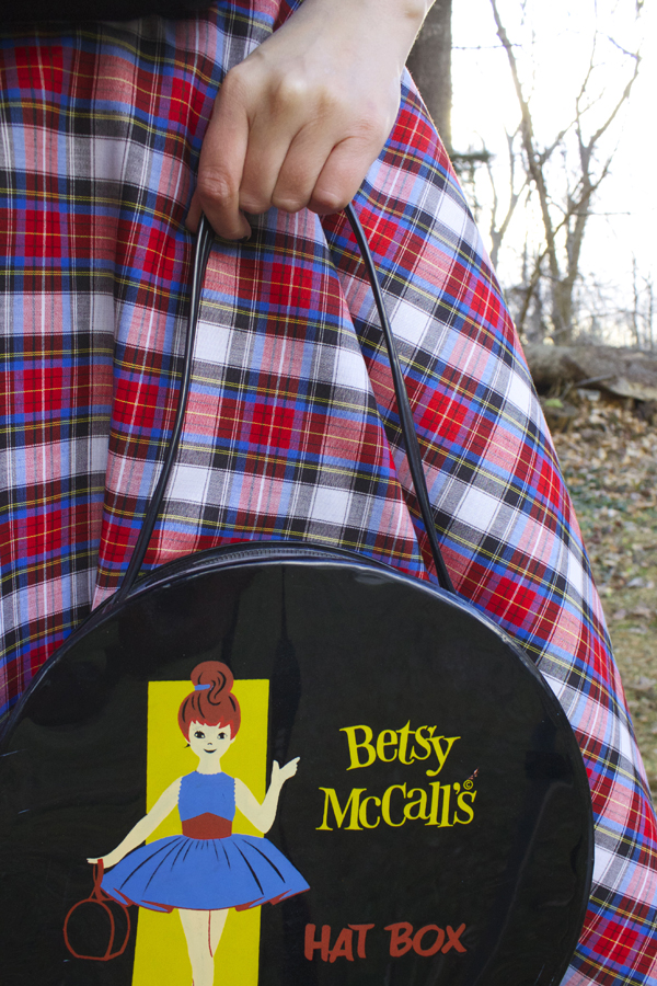 hatbox purse