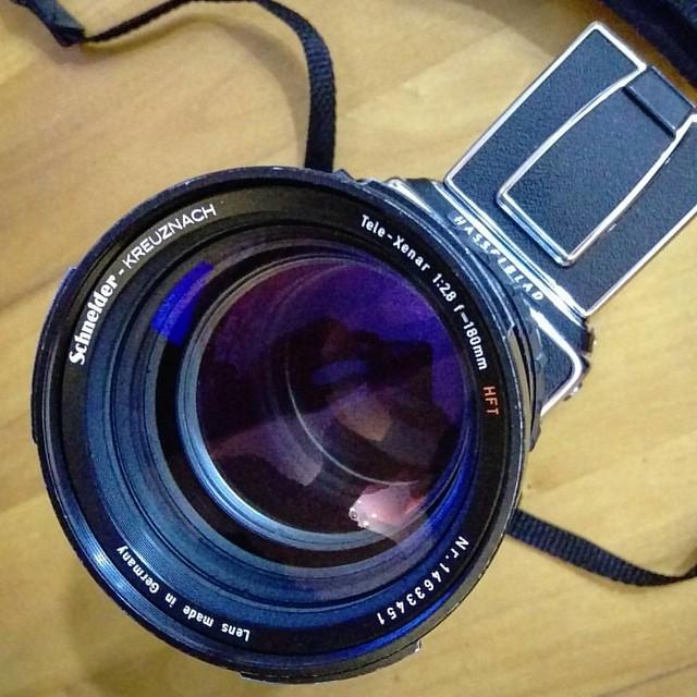 Schneider Tele-Xenar 180 mm f2.8 HFT Hasselblad 試玩