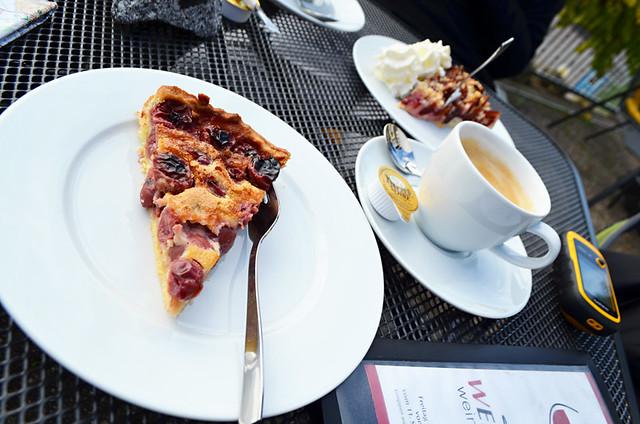Cherry cake, Bickensohl, Kaiserstuhl, Germany