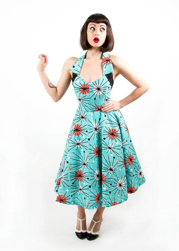 flipsville originals starburst dress