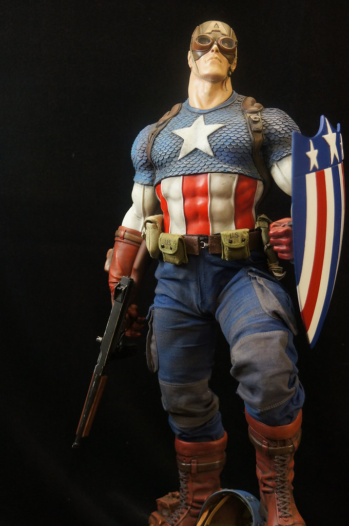 Custom Captain America Premium Format  24907022742_50045aebaa_b