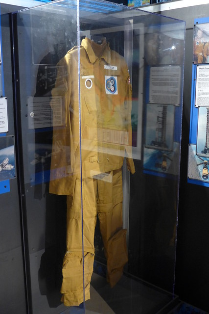 Edward Gibson spacesuit