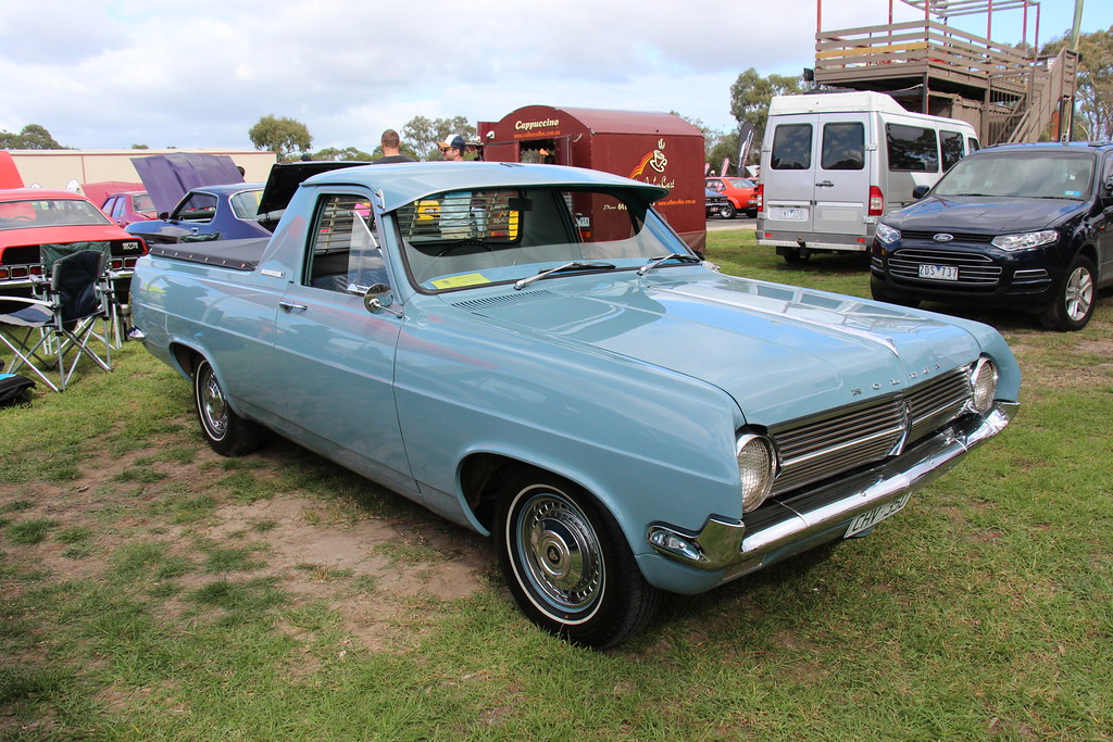 1965 Holden Hd Utility Corinth Blue The Hd Holden Was