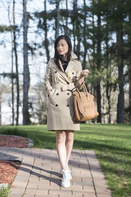Burberry London Kensington Long Heritage Trench - Boston Marathon day 77064f0b336