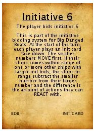 Init Card idea for BDB