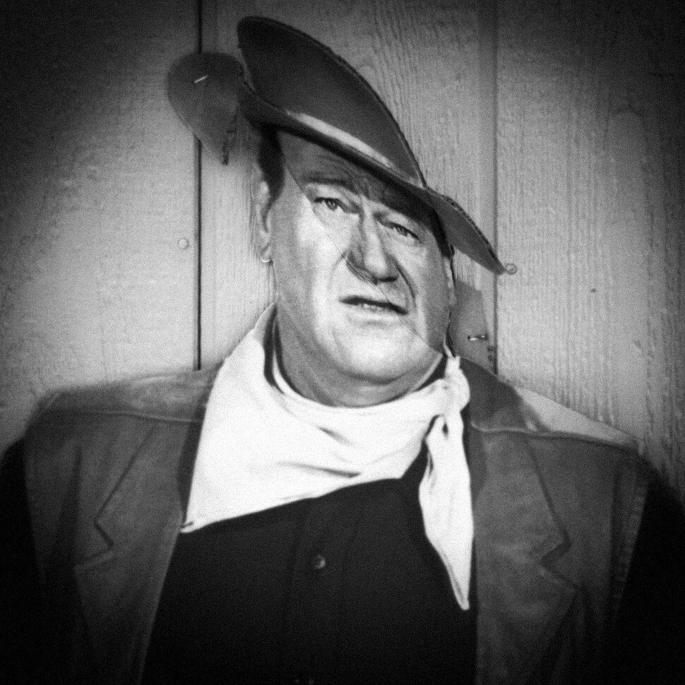 Cardboard John Wayne | by LowerDarnley