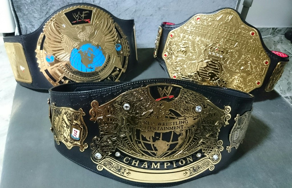 Wwe championship side plates