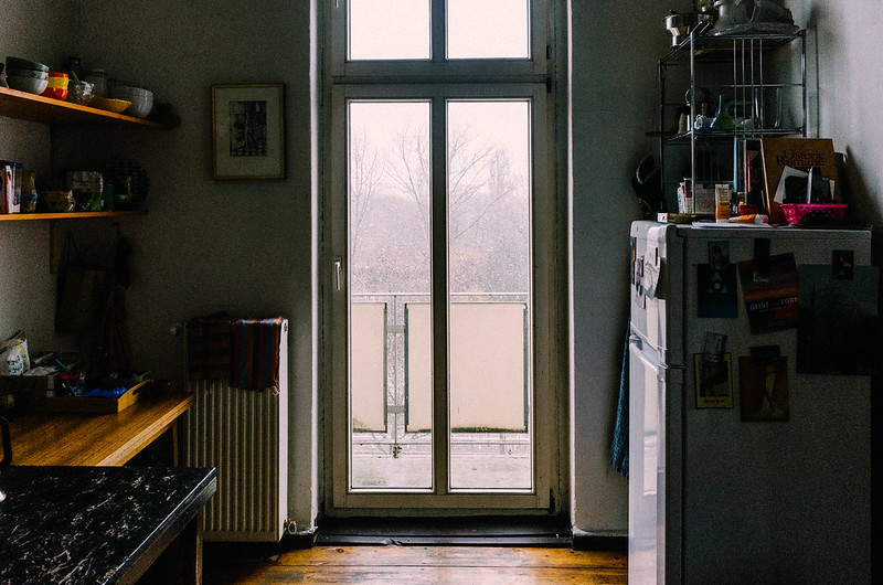 airbnb flat in Berlin. Photography by Will Strange