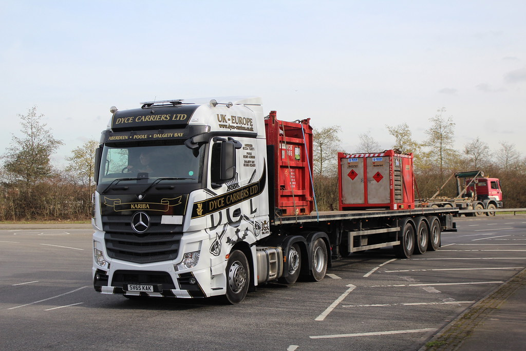 SV65KAK DYCE CARRIERS LTD | seen 29/02/16 on the A33 in Read… | Flickr