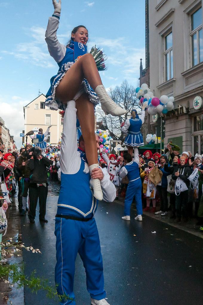 Tanzmariechen zu Karneval   Marco Verch   Flickr