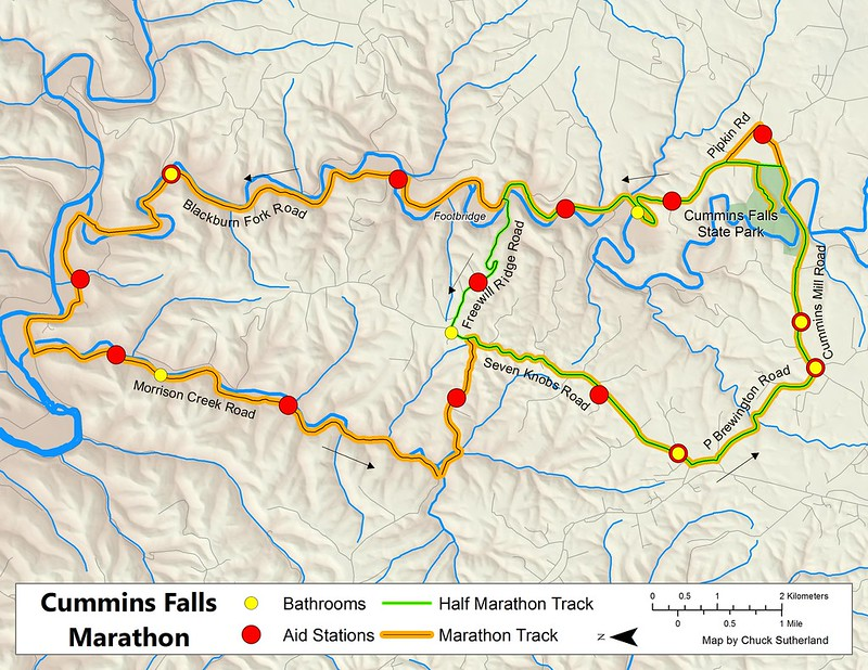 Cummins Falls Marathon 2016