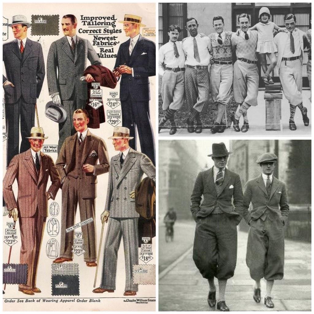 мужская мода 20-х