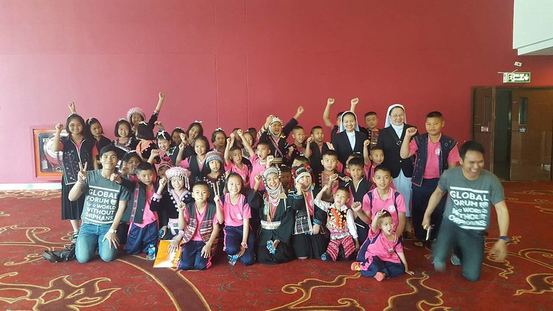 เด็กๆ บ้านพรสวรรค์ร่วมแสดงในงานประชุมนานาชาติ World Without Orphans