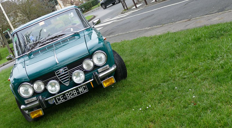 L'Alfa Giulia 1300 Ti de Don Giuliano 23630499264_14397a41ca_c