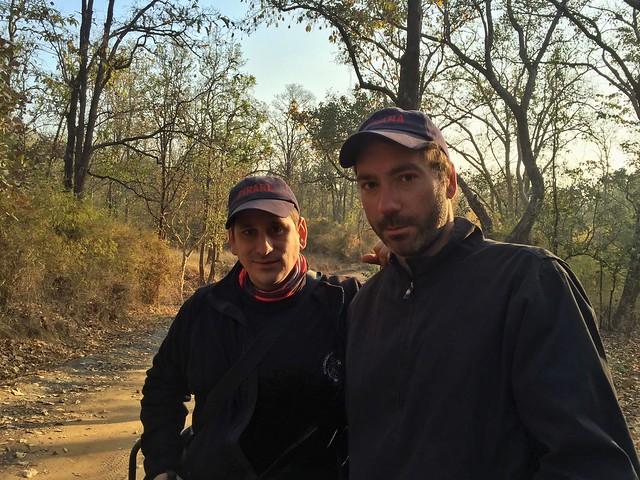 Sele y Víctor, miembros del Comando Piraña en India