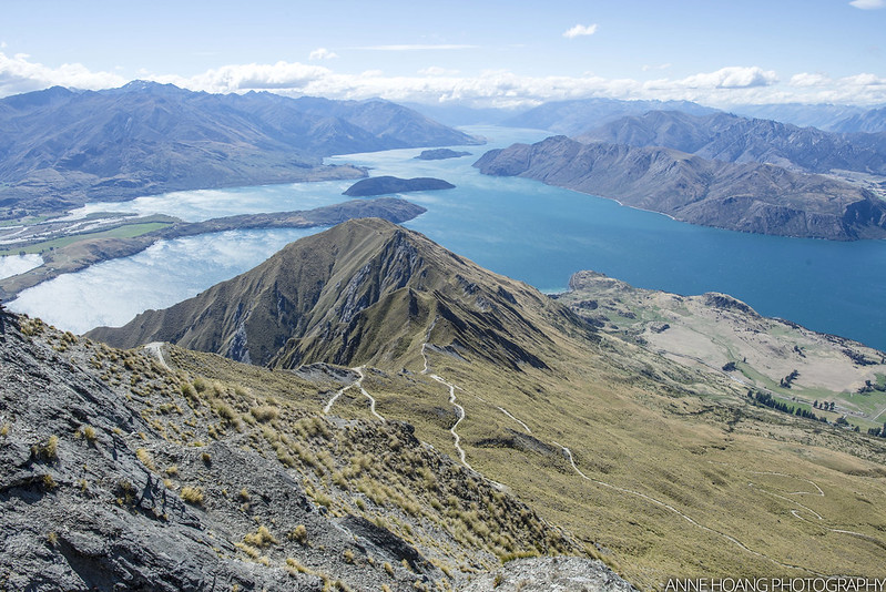Switchbacks along Roys Peak