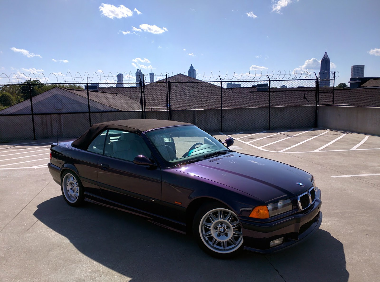 E36 Fs In Ga Low Mileage Technoviolet E36 M3 Convertible