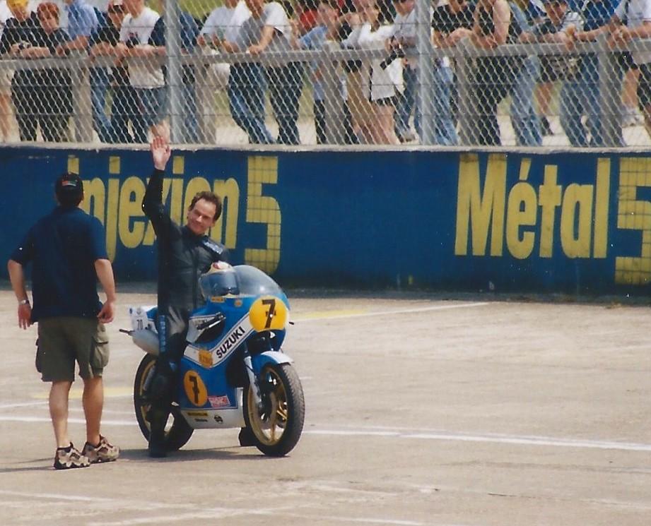 barry sheene coupes moto legende 2001 montlhery eyo vall flickr. Black Bedroom Furniture Sets. Home Design Ideas