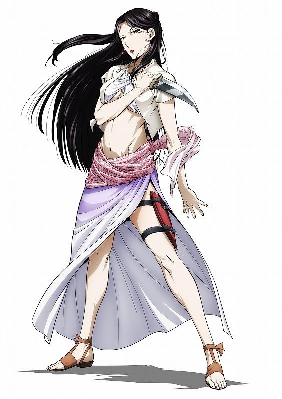 160501 -「法蘭吉絲×奇夫」性感新裝扮、電視動畫第2期《アルスラーン戦記 風塵乱舞》將在7/3放送!