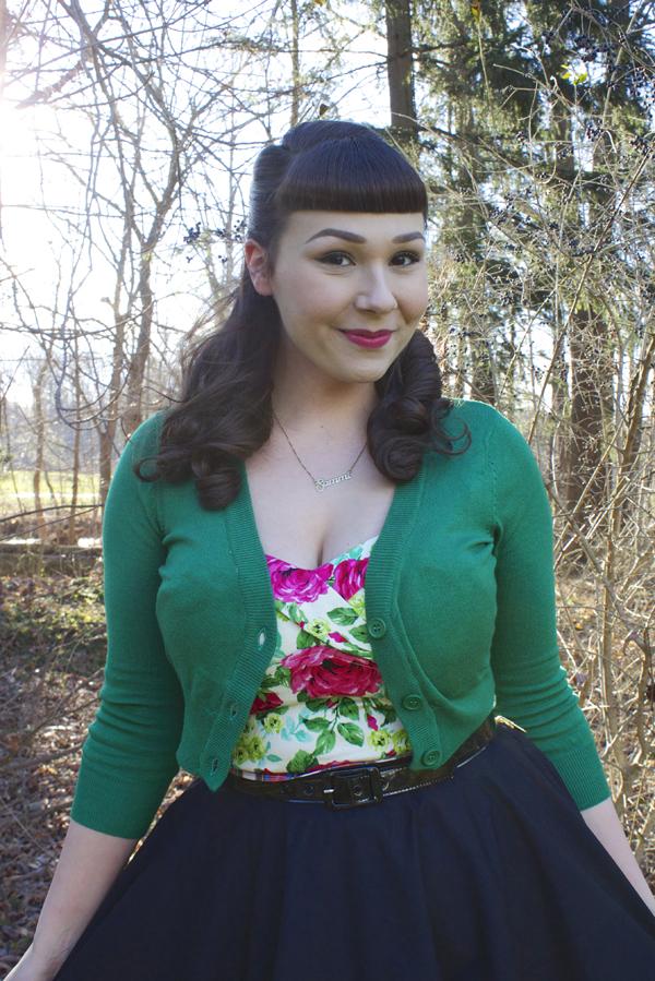 pinup girl clothing vamp top