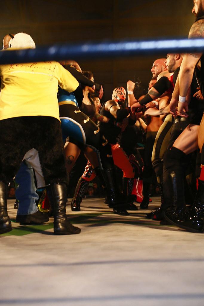 Wrestling Revolution D Exhibition : Pro wrestling revolution llc san