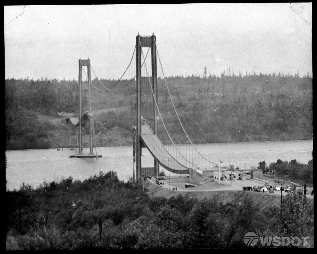 1940 Tacoma Narrows Bridge