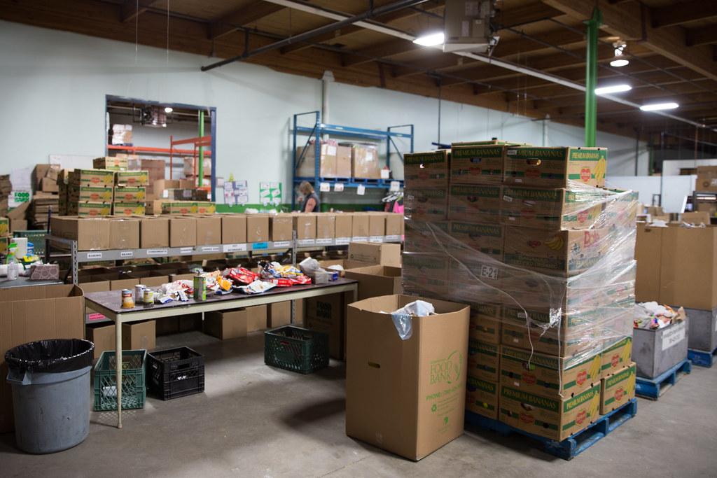 Inside Edmonton's Food Bank