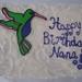 Hummingbird cake by Resa, Tucson, AZ, www.birthdaycakes4free.com