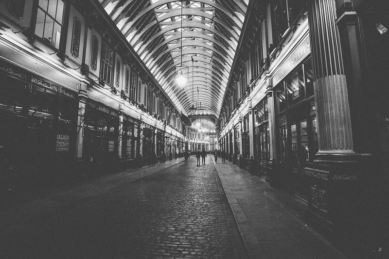 Leadenhall Market, London photographed by Will Strange