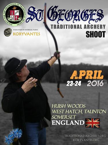"""Συμμετοχή στο """"ST'GEORGES"""" Shoot, 23-24 Απριλίου 2016, Αγγλία"""