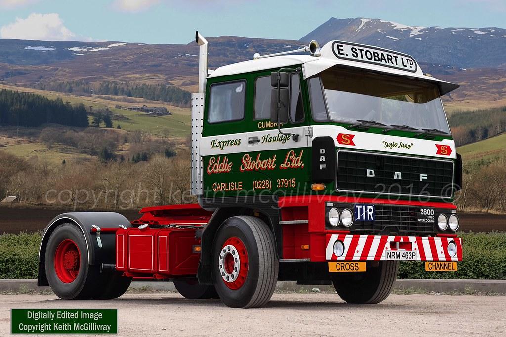 DAF 2800: Eddie Stobart Ltd | (THIS IMAGE IS DIGITALLY EDITE… | Flickr