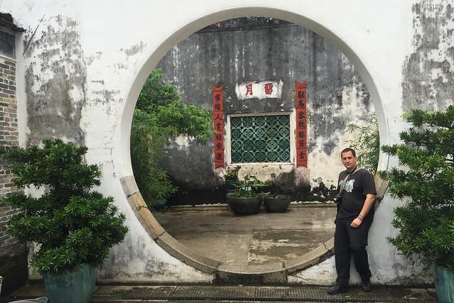 Sele en la Casa del Mandarín de Macao