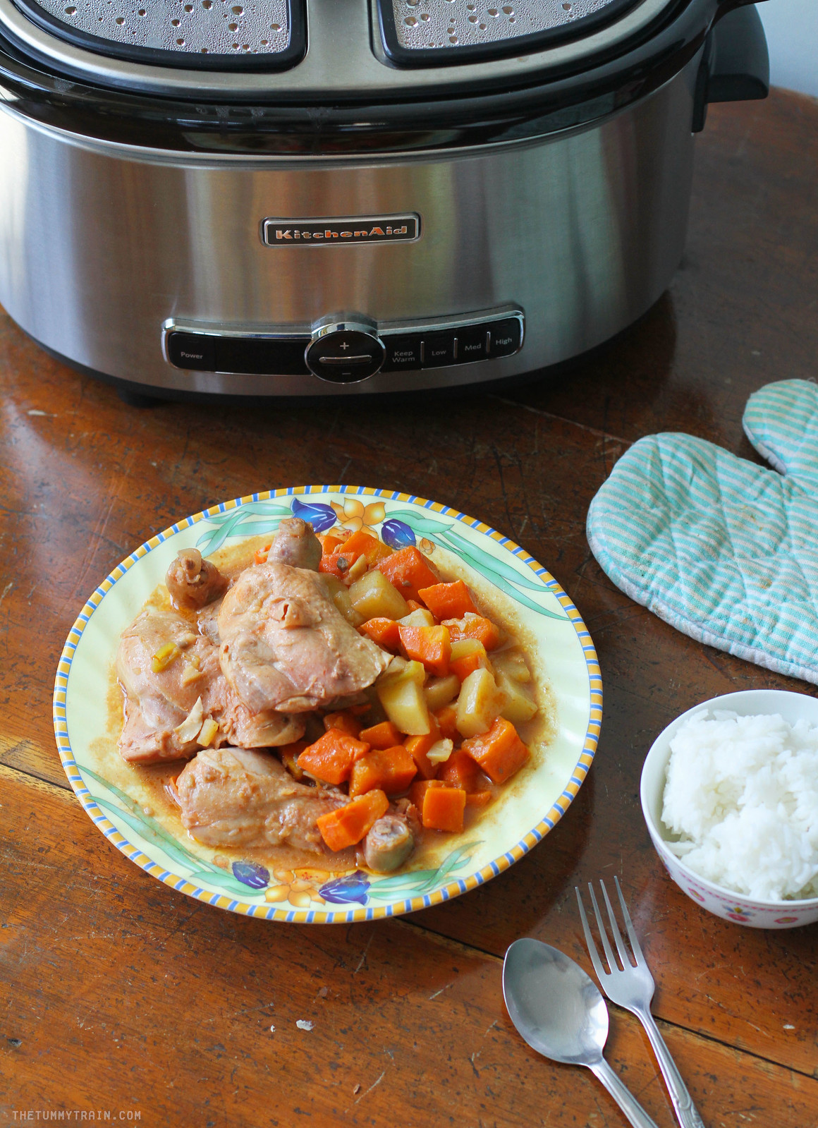 26133779354 2b2ec88385 h - A delightful Slow Cooker Spicy Chicken Stew Recipe with KitchenAid