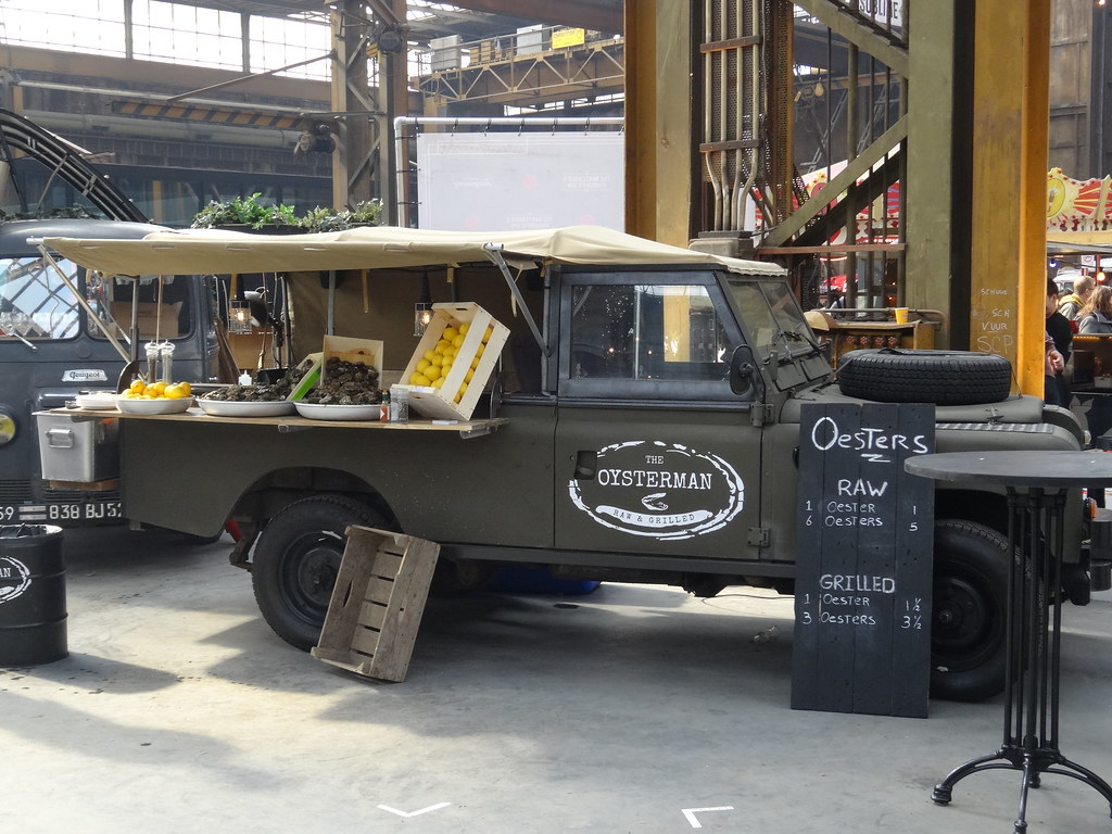 Land Rover 109 Quot Food Truck One Of The Longest Living