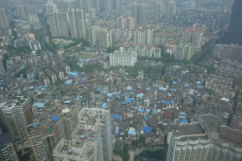 view from hotel, guangzhou